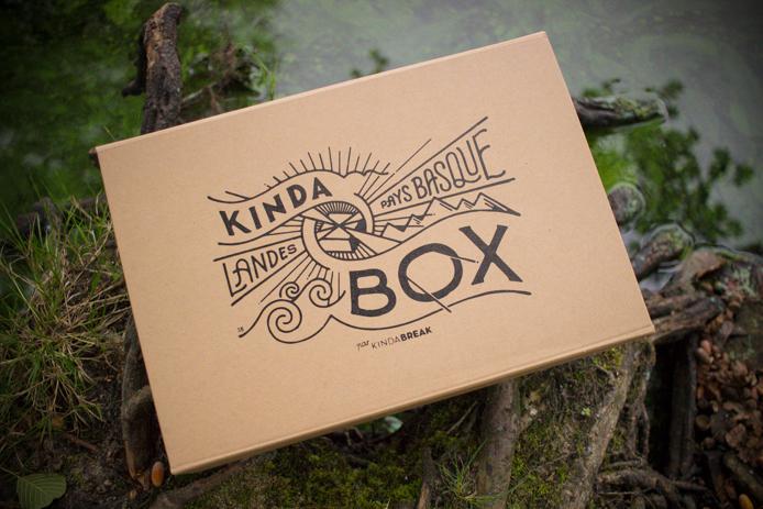 Illustration de Steven Burke pour la Kinda Box Landes et Pays basque.