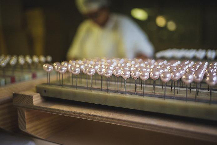 Perles de la manufacture Simon & Simon à Bayonne