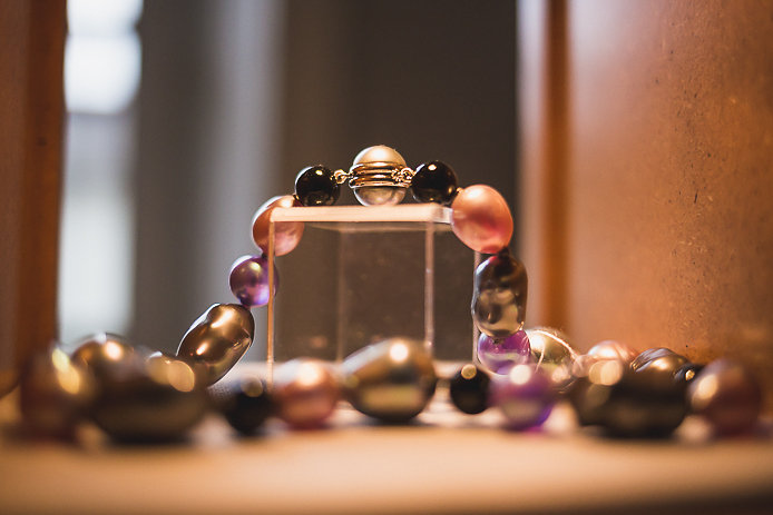 Collier de perles Simon & Simon à Bayonne