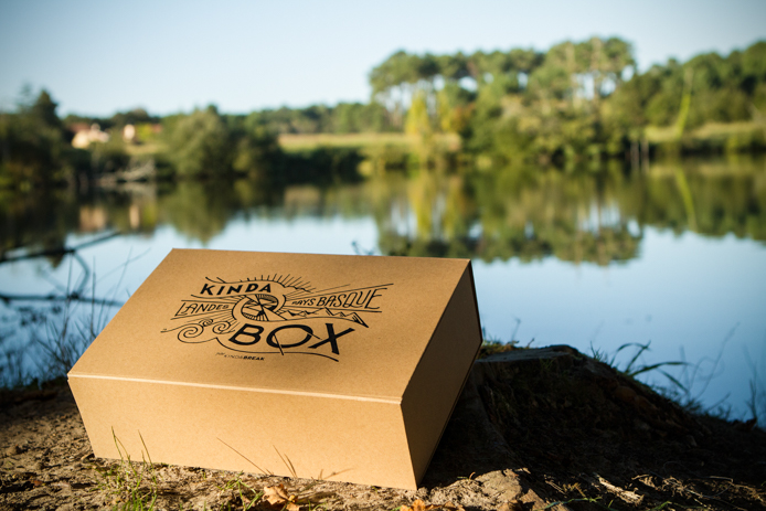 Kinda Box 2 automne imprimée en sérigraphie par l'artiste Steven Burke.
