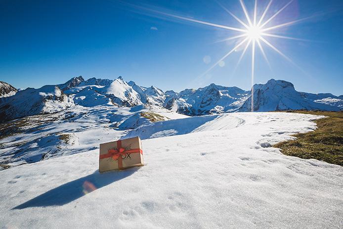 La Kinda Box de Noël sous la neige par Kinda Break.