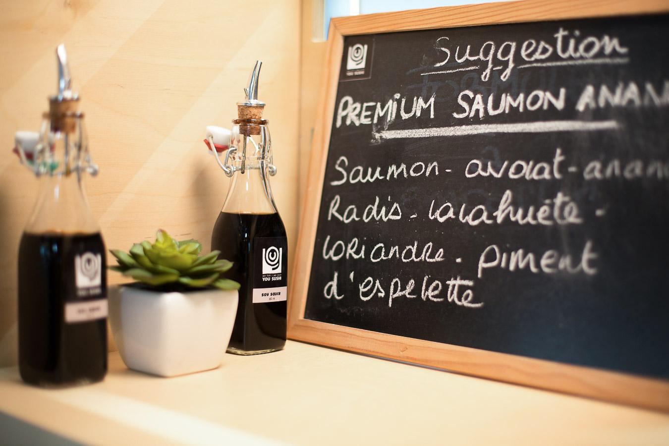 Sushis du jour chez You Sushi à Bayonne, nouveau restaurant