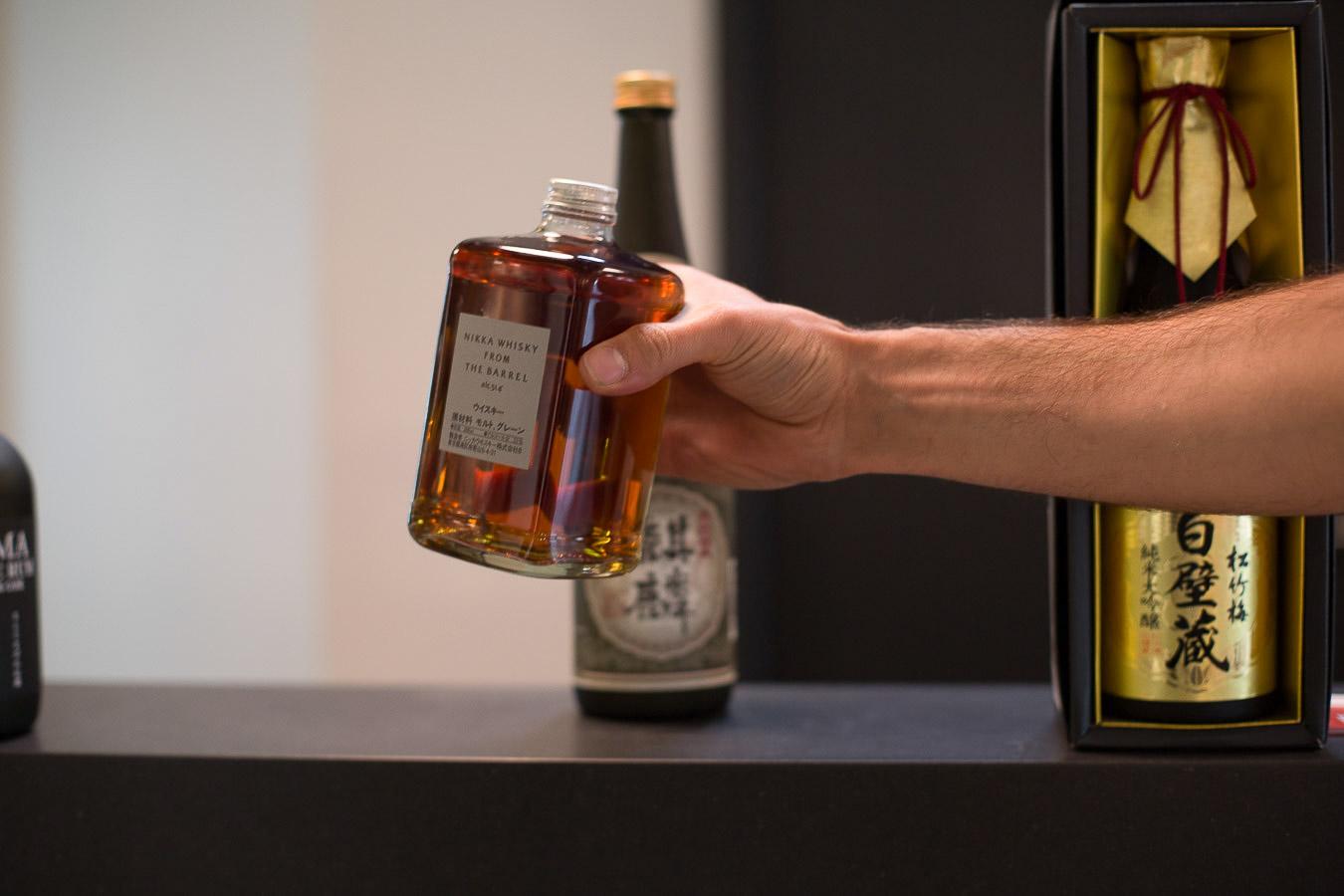 Whisky japonais en vente chez You Sushi à Bayonne.