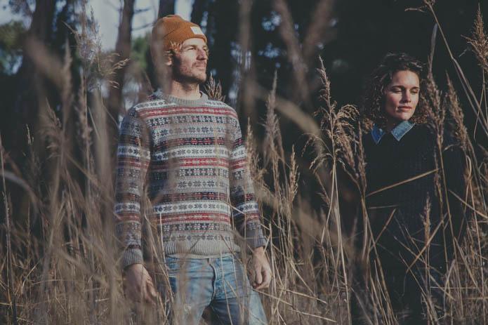 Bon Air ex The Mellow avec Gaetane Abrial en interview sur Kinda Break.