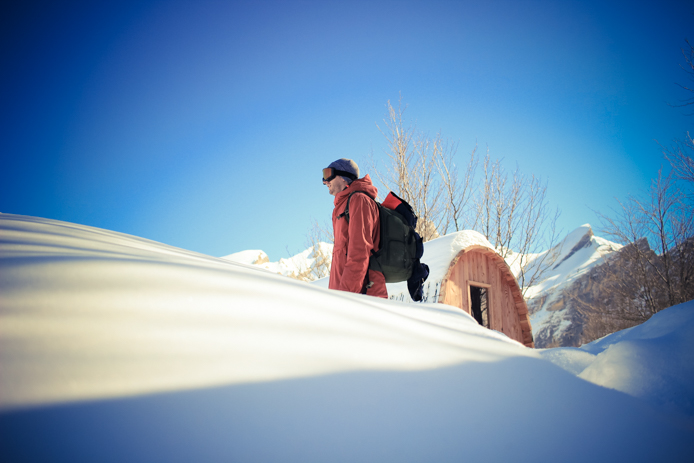 Nuit en snowpod à Gourette