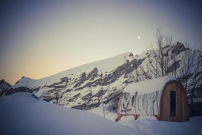 Snow pod de l'Aventure Nordique à Gourette
