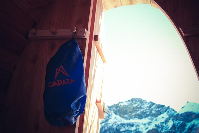 Capata Pyrenees pour une nuit en snow pod à Gourette
