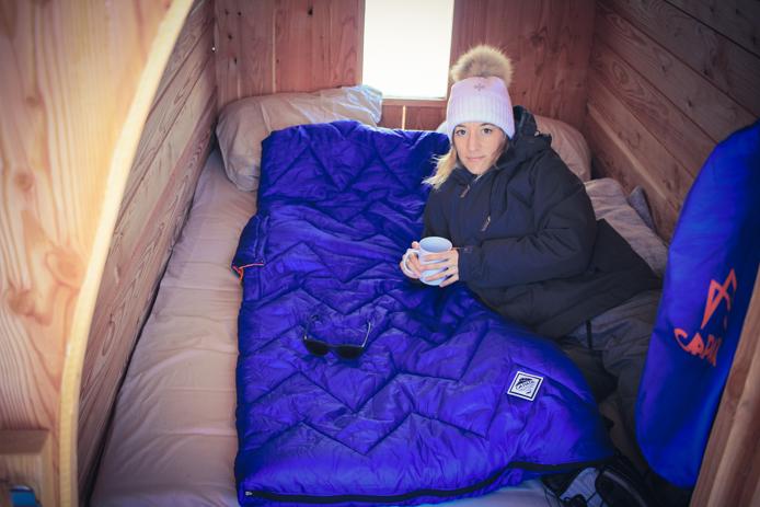 Experience en snow pod à Gourette