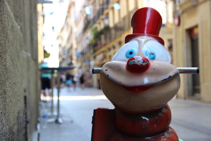 Rue de San Sebastian en Espagne