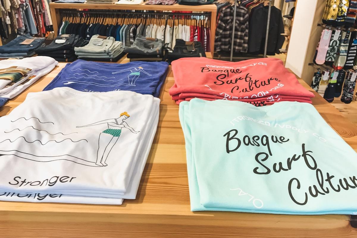 Boutique Hawaii Surf à Saint-Sebastian en Espagne