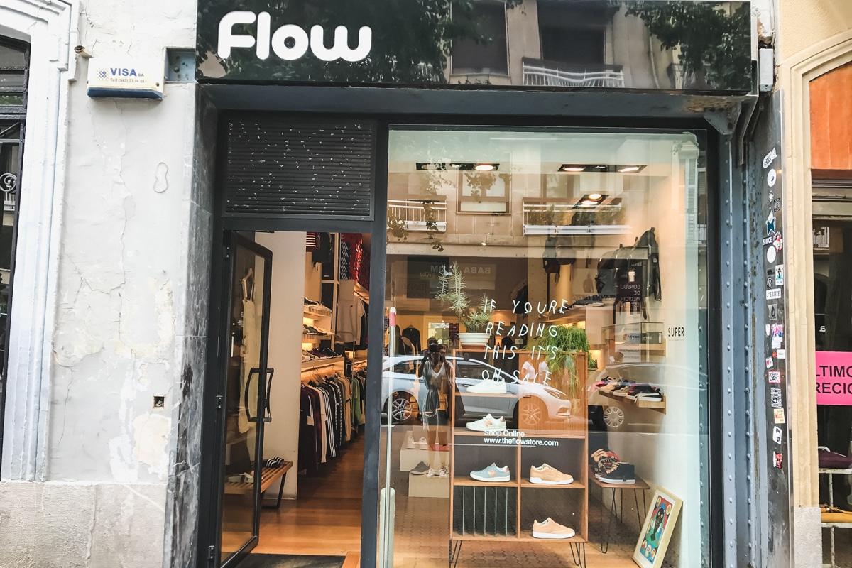 Flow store à San Sebastian