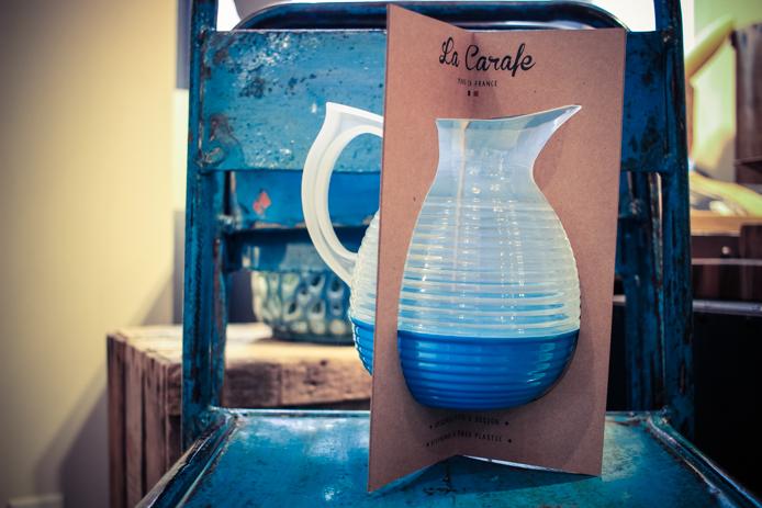 La Carafe, le pichet vintage de cantine en vente chez Jazz The Glass à Biarritz