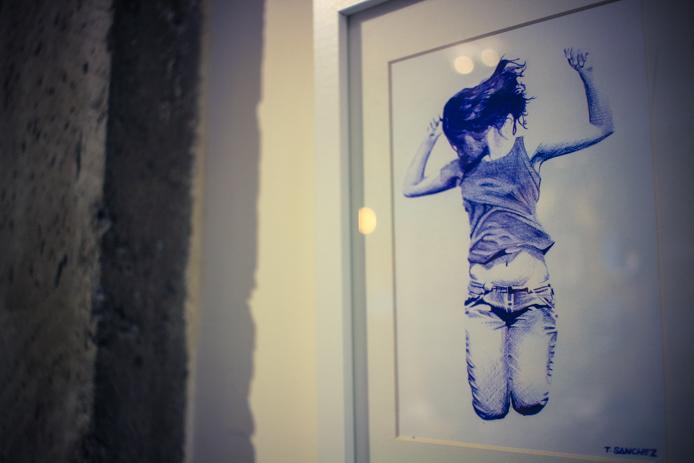 Exposition chez Jazz the glass à Biarritz