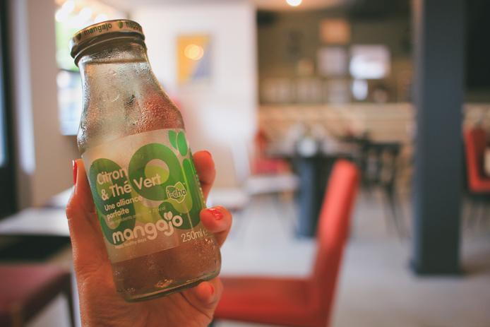 Thé vert Mangajo en vente au restaurant You Sushi à Saint-Jean de Luz