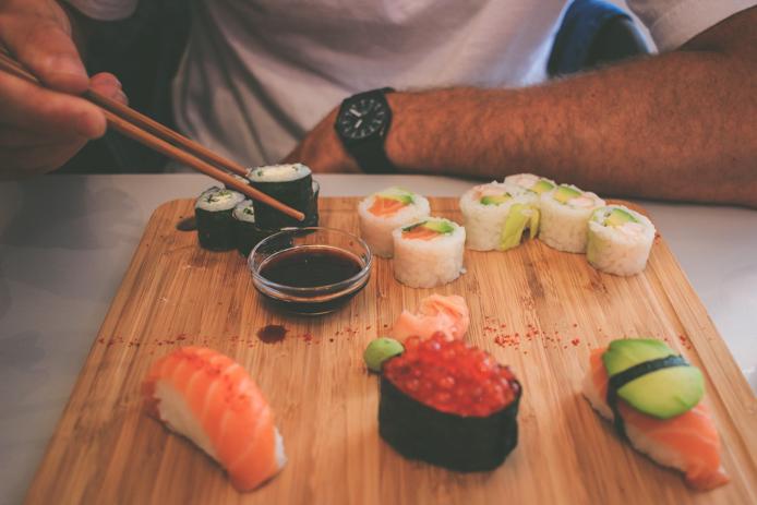 Dégustation de sushis chez You Sushi à Saint-Jean de Luz