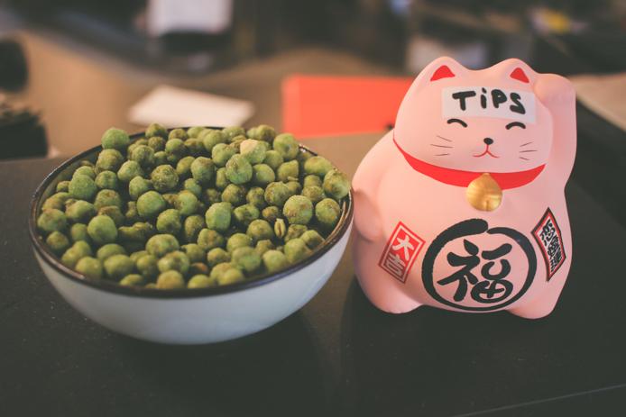 Cacahuètes au wasabi You Sushi
