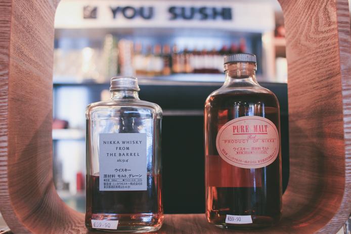 Alcool japonais en vente chez You Sushi à Saint-Jean de Luz