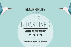Vente créateurs des Bidartines à Bidart aux ateliers de Bassilour