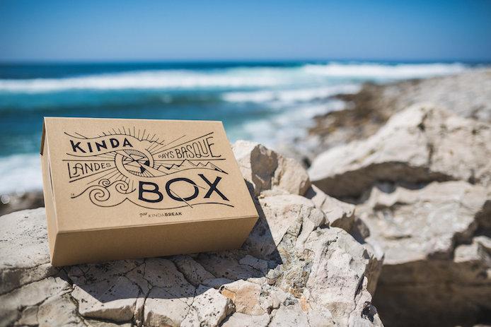 La Kinda Box summer 2016 en vente sur Kinda Break, la boîte cadeaux des Landes et du Pays basque