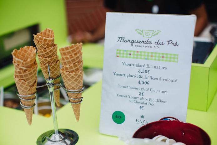 Tarifs des yaourts glacés Marguerite du Pré