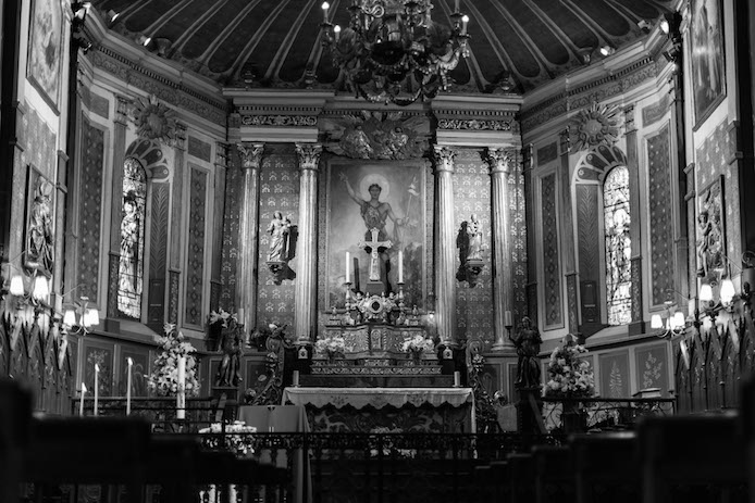 Eglise d'Arcangues au Pays basque par Bascovivo