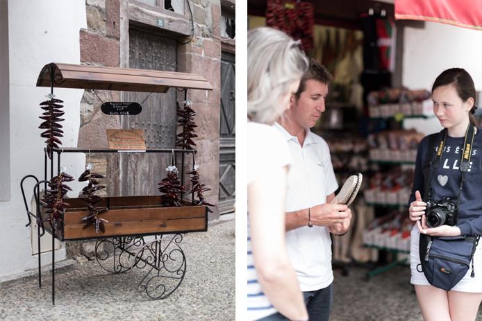 Visite du village d'Espelette avec le circuit bascovivo au Pays basque