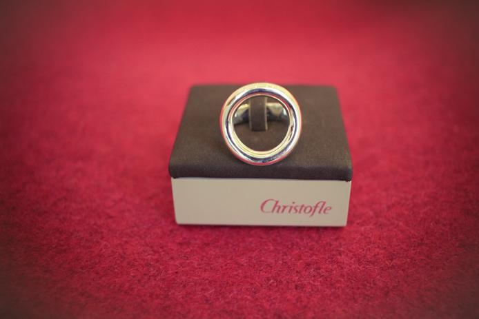 Bague Christofle en vente chez Christelle Caudron à Biarritz
