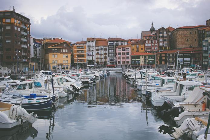 Port de Bermeo Pays basque espagnol