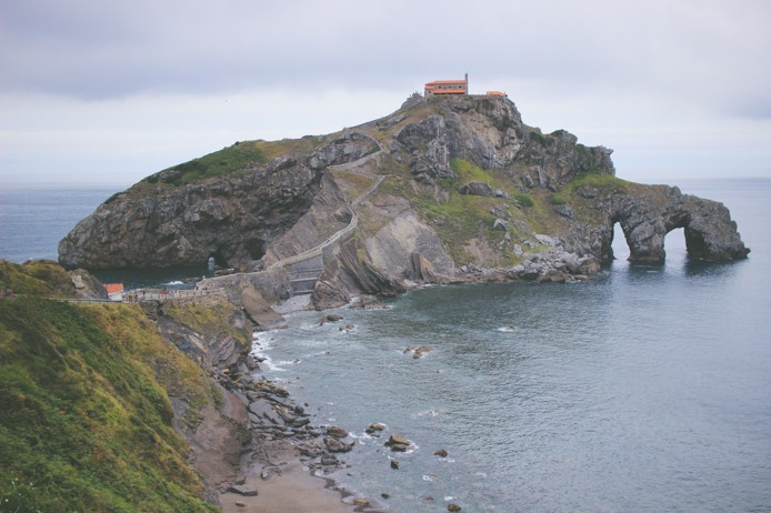 San Juan de Gaztelugatxe au Pays basque espagnol
