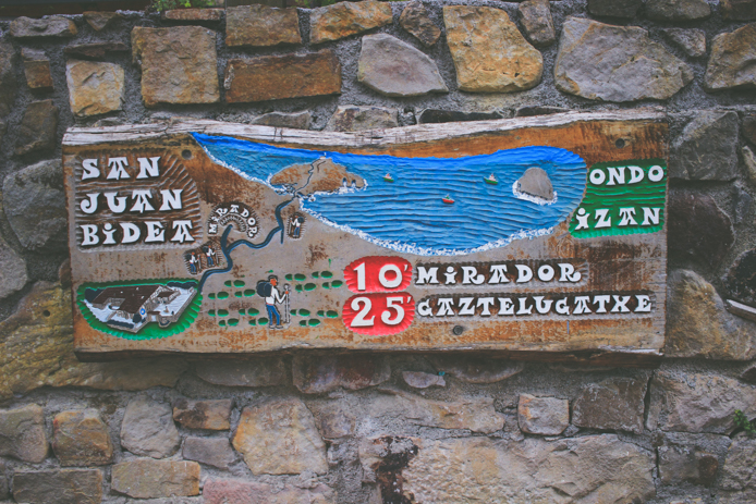 plan de Saint Juan de Gaztelugatxe