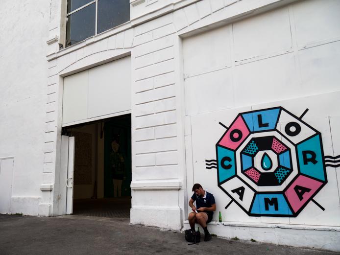 Expo Street Art Colorama au Grage Foch à Biarritz au <a href='' style='text-decoration:none;color:#555;'></noscript>Pays</a> basque.» width=»694″ height=»521″ /></a></p> <p><a href=