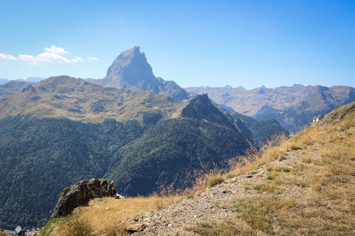 Pic du Midi d'Ossau dans les Pyrénées.