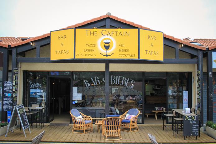 Bar à tapas et bières The Captain entre Capbreton et Hossegor