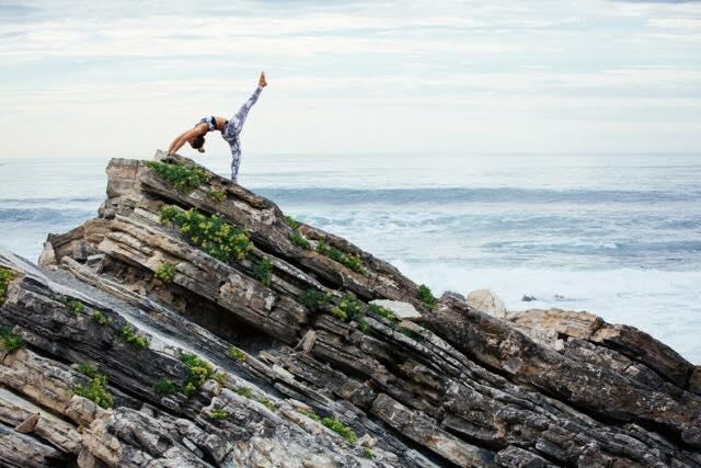 Caroline Beliard Samudra Yoga à Hossegor dans les Landes