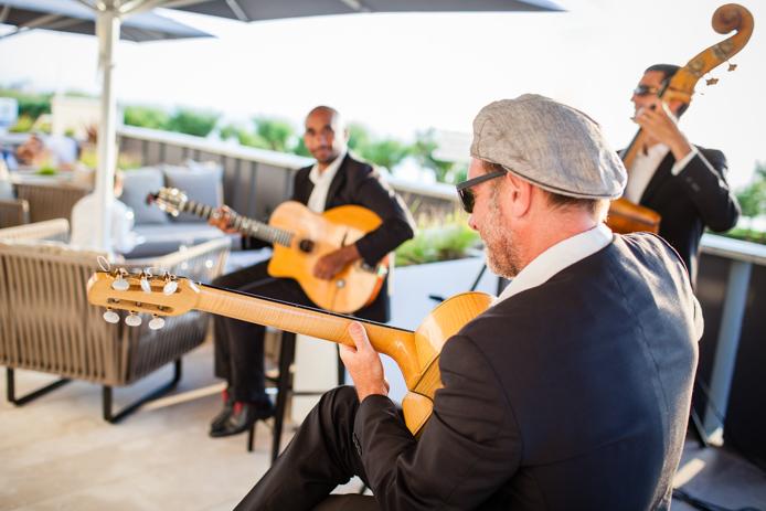 Live Music à l'hôtel Regina Biarritz.