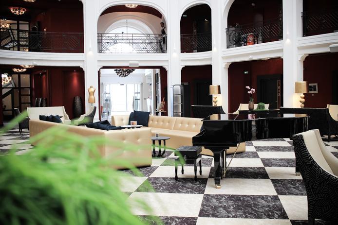 Piano de l'hôtel Regina à Biarritz