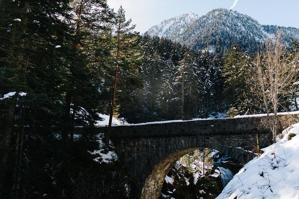 Cauterets Pont d'Espagne Pyrénées