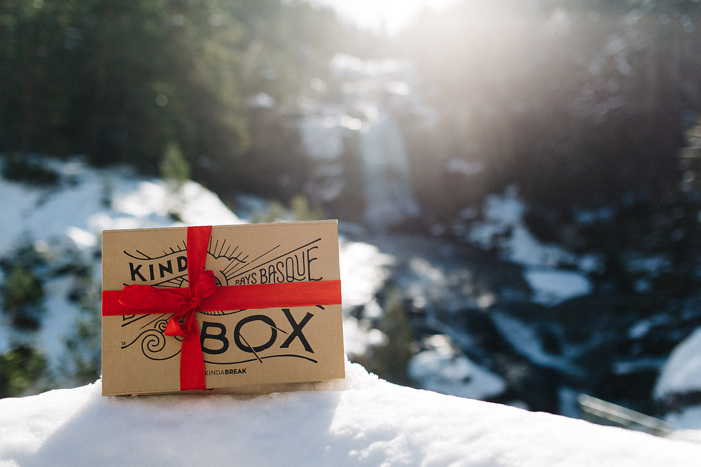 Kinda Box edition noël 2016 par Kinda Break
