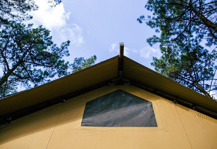 Hébergement insolite Lo Rey du Lac à Hossegor dans les Landes : lodge en famille