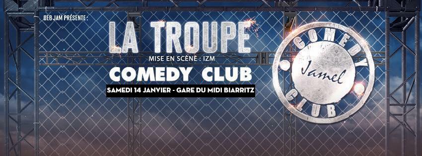 la troupe jamel comedy club gare du midi biarritz