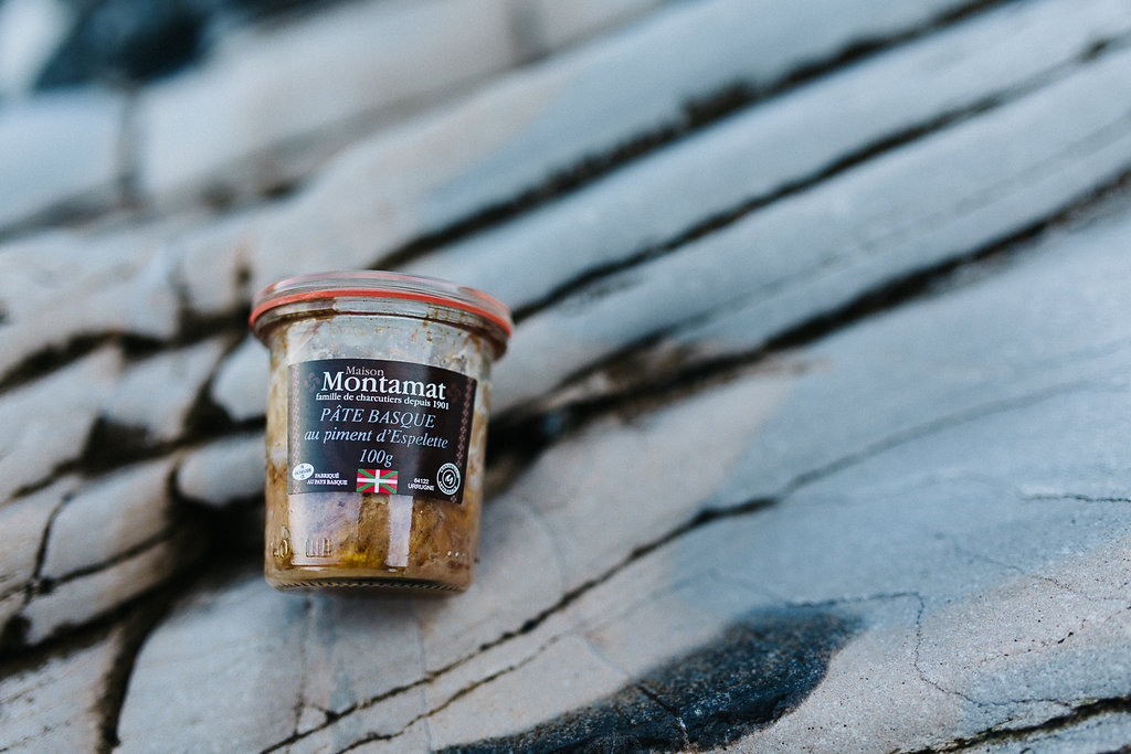 Pâté basque de la Charcuterie Montanat dans la Box 64