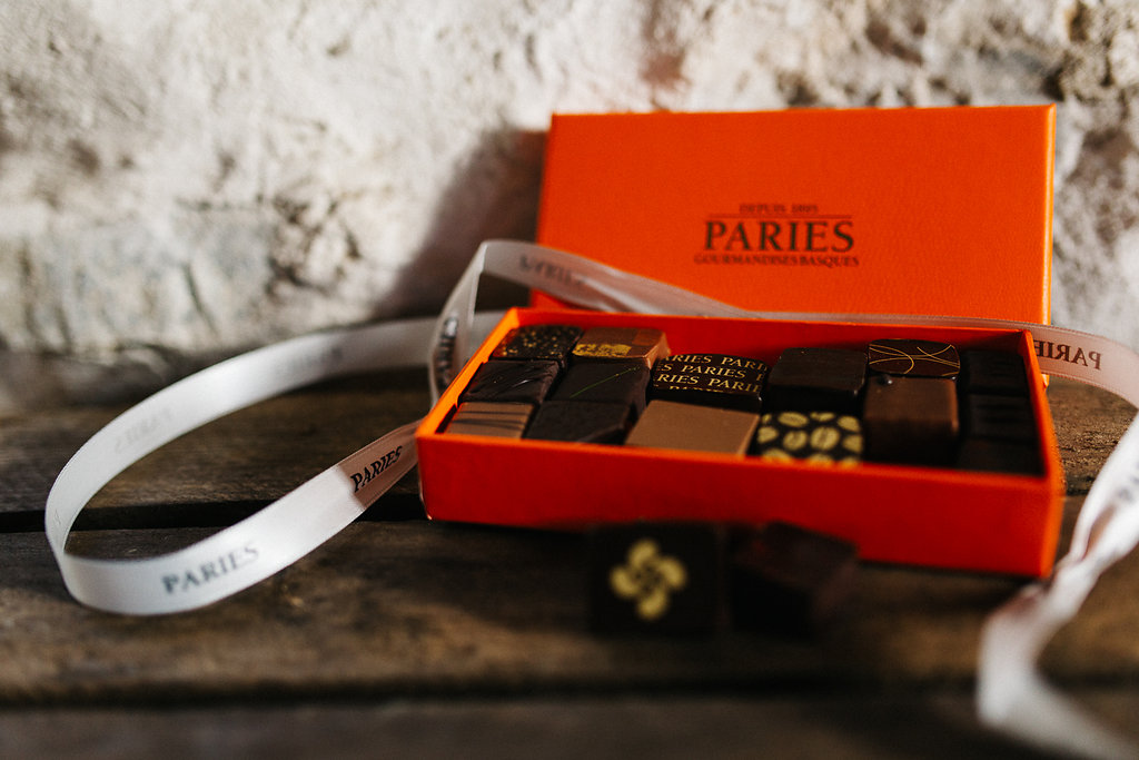 Chocolats Paries en vente dans la Box 64