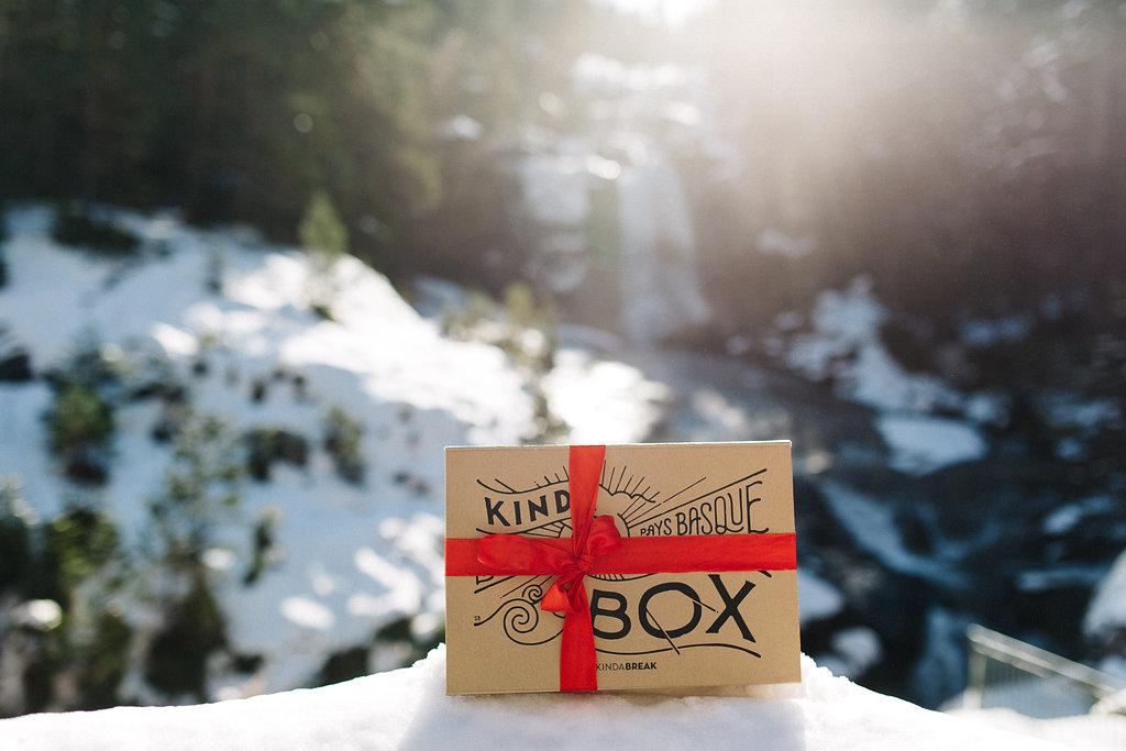 Produits locaux Landes et Pays basque de la Kinda Box Noel