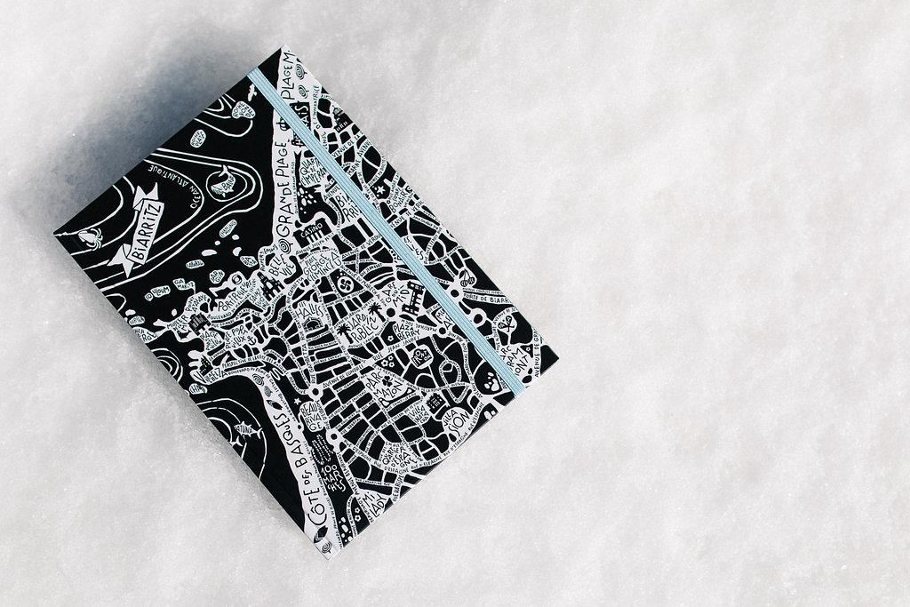 Note Book plan Biarritz Tokiko en vente dans la Kinda Box