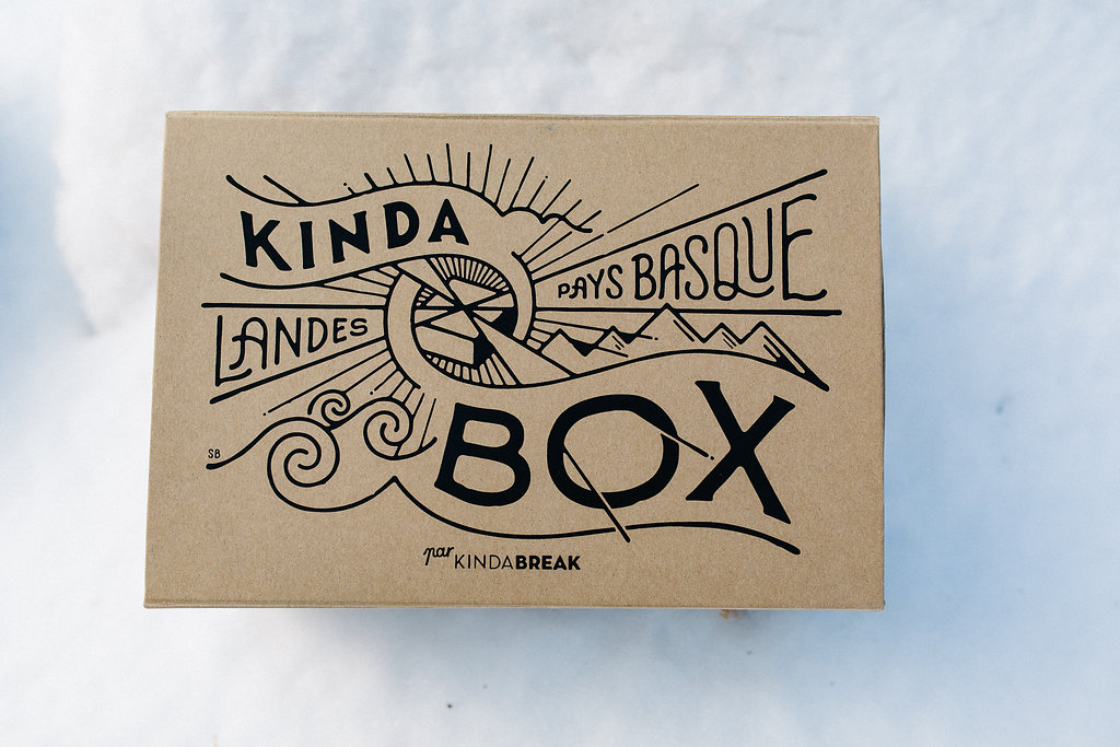 Illustration de l'artiste landais Steven Burke pour la Kinda Box