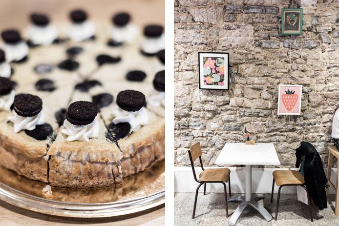 Josie Factory, Coffee Shop à Bayonne, pâtisseries Oreo.