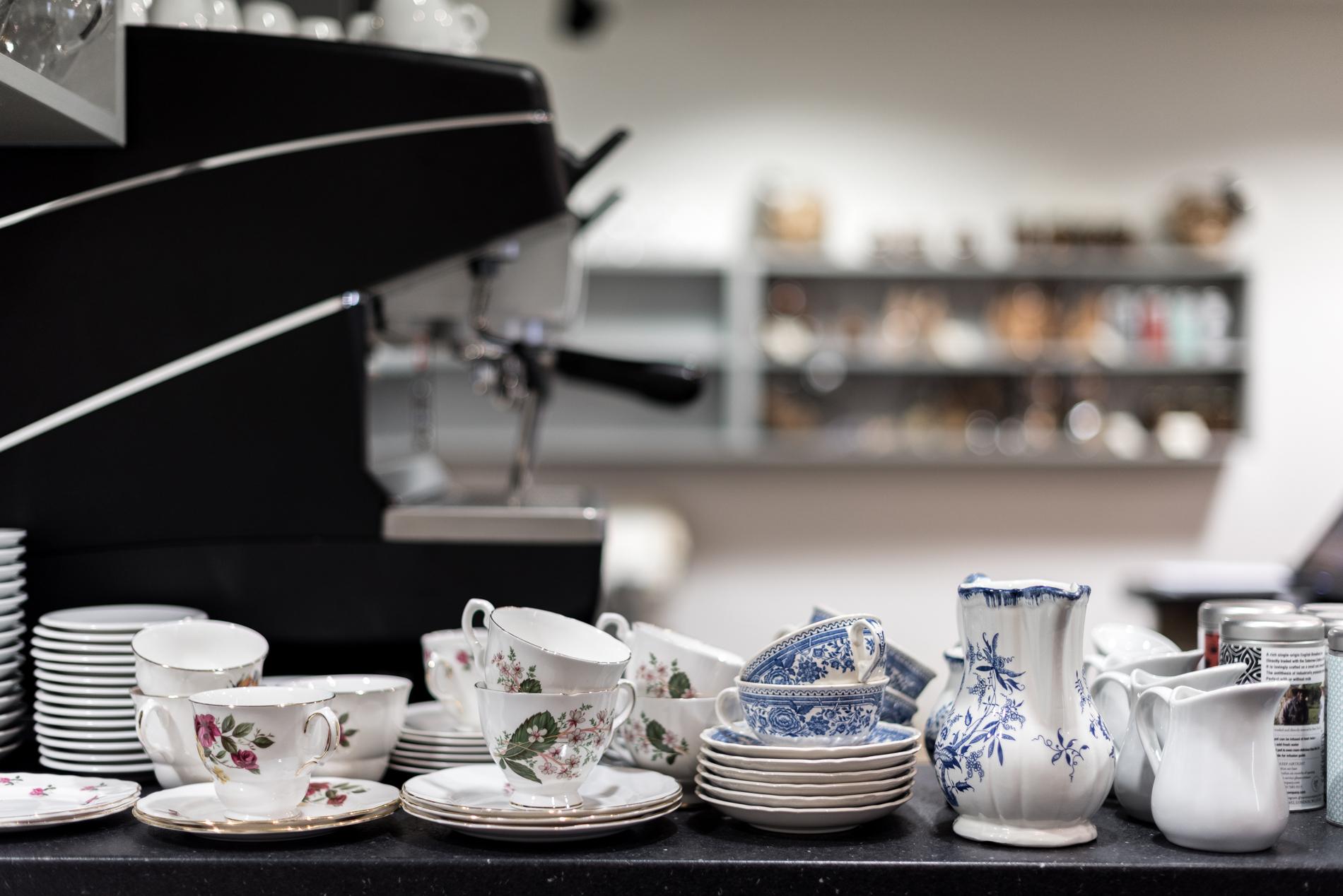 Vaisselle duRestaurant Kitchen Dada à Bayonne