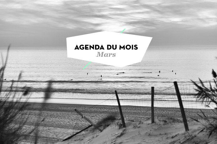 Agenda du mois de mars Kinda Break Landes et Pays basque