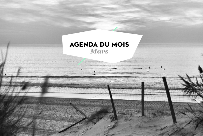 Agenda du mois de mars Kinda Break Landes et Pays basque