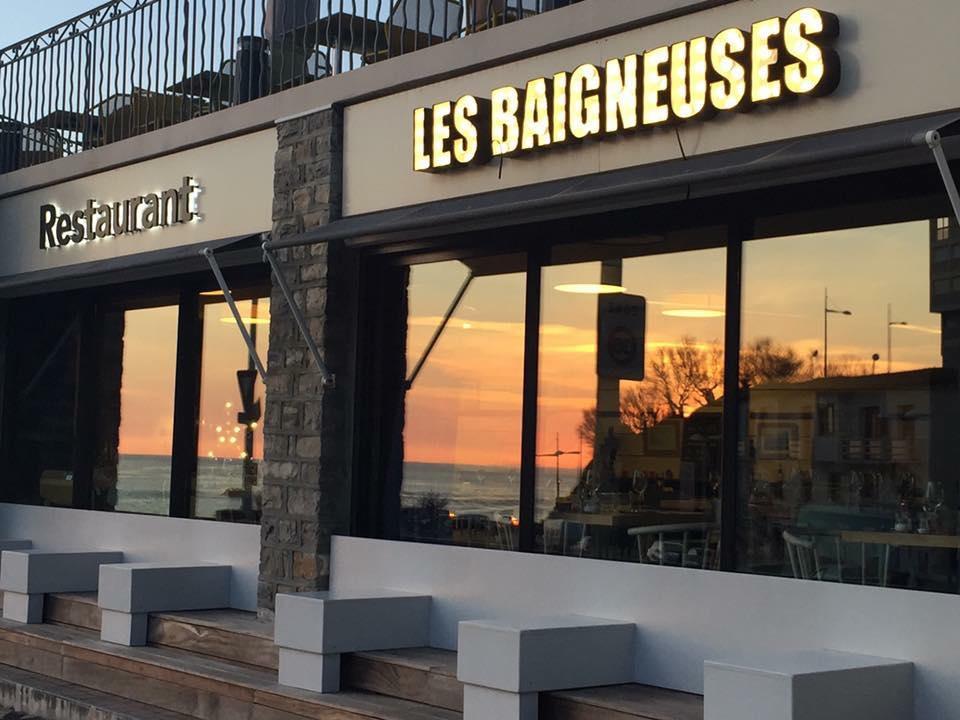 Les Baigneuses à Biarritz
